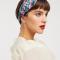 Haarband met bloemenprint