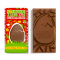 Tablette de Pâques chocolat au lait, meringue & citron