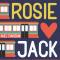 'Rosie hartje Jack' van Mel Darbon