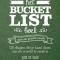 Het Bucketlist boek voor een groene wereld, Elise De Rijck