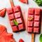 Aardbei + watermeloen