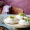 Veganistische meringue met kiwi (4 pers.)