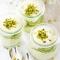 Mascarponeglaasjes met pistachenoten (4 pers.)