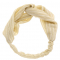 Haarband met goudkleurige strepen