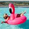 Zwemband in de vorm van een flamingo