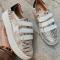 Sneakers met velcro