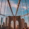 Brooklyn Bridge, New York, Etats-Unis