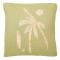 Sierkussen met palmboom