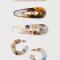 Haarspeldjes met verschillend design