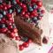 Chocoladetaart van pannenkoeken