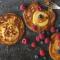 Zoeteaardappelpannenkoeken met appel