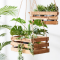 Houten plantenhanger