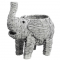 Geweven rieten olifant