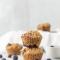 Havermoutmuffins met bosbessen