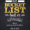 'Het Bucketlist Boek'