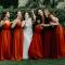 De bruidsmeisjes…