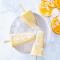 Yoghurtijsjes met sinaasappel en nectarine
