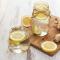 Eau aromatisée au gingembre et au citron jaune