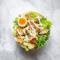 Caesarsalade met kip (voor 1 persoon)