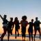 Onze beautyshoot in sunset-kleuren is de allerlaatste shoot die ons team in Cuba inblikte.