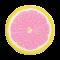 Roze citroen