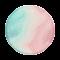 Zachte tinten in combinatie met glitters