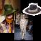 Les chapeaux Fedoras