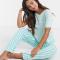 Pyjama met streepjesprint