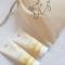 Un coffret shampoing + gel douche au miel