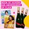 Abonnement voor 18 Flairs + een fles champagne*