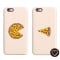 Smartphonehoesjes met pizza 'You complete me'