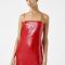 Rode jurk met lovertjes