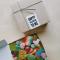 Kartonnen doosje met zoet en/of zure snoepjes met opschrift 'Happy Valentine to me'