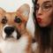 Socialmediamanager Fien (25) + pembroke welsh corgi Freddie (10 maanden)