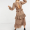 4. Een jurk met ruffles