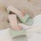 Pistache sandaaltjes