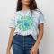 T-shirt fabriqué à partir de coton 100% recyclé