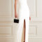 Robe bustier minimaliste fendue