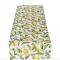 Tafelkleed met citroenpatroon (140 x 40)