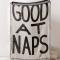 Good at naps-plaid