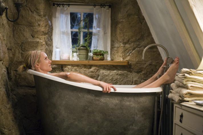 Le cottage parfait de Rose n'existe pas, il a été créé de toutes pièces pour le tournage.