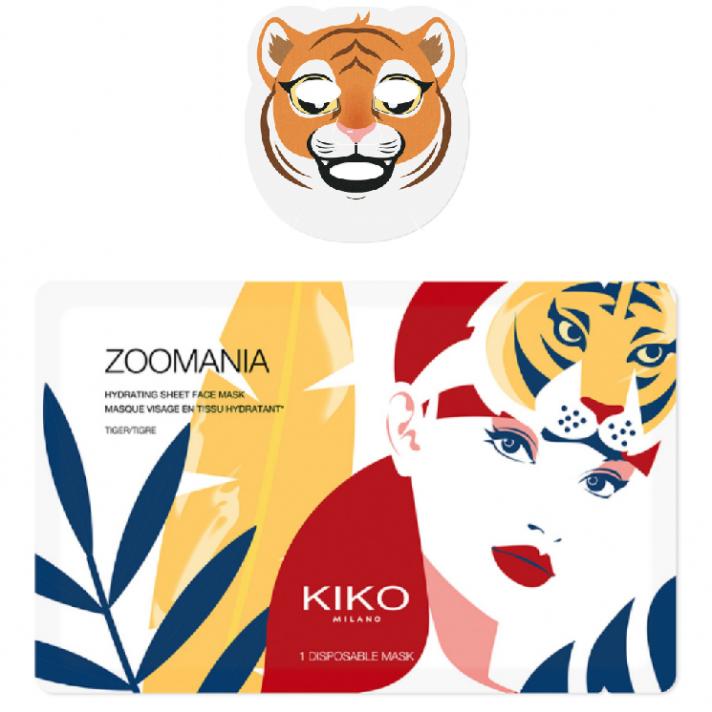 Masque hydratant «Tigre»