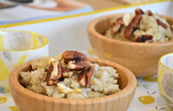 Quinoameal: noix de pécan et banane