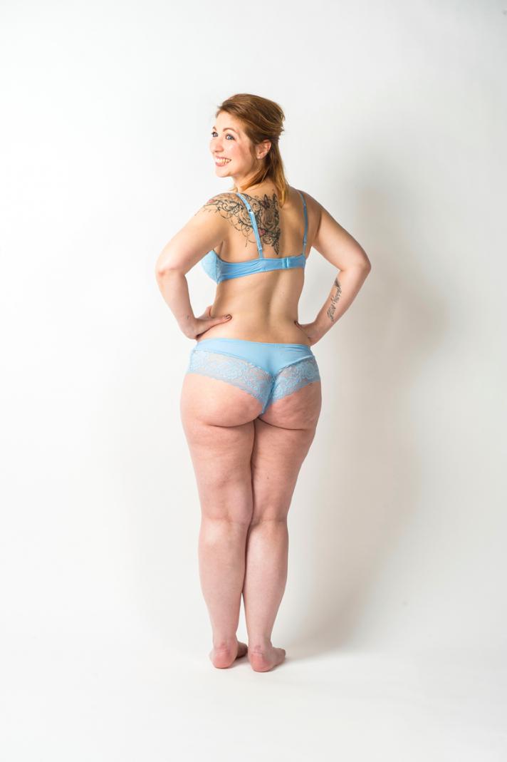 <strong>Valérie, </strong>29 ans, mesure 1m64 et pèse 68 kilos