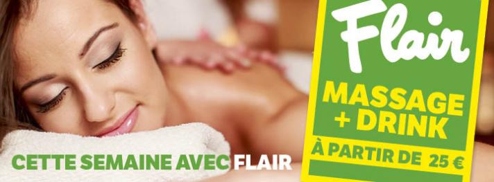 Il y a un super pocket massage dans le Flair de cette semaine