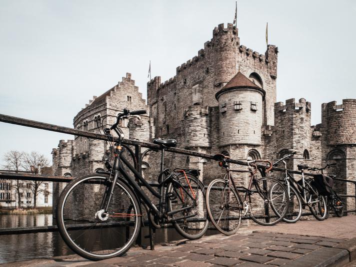 La Château des Comtes de Flandre à Gand