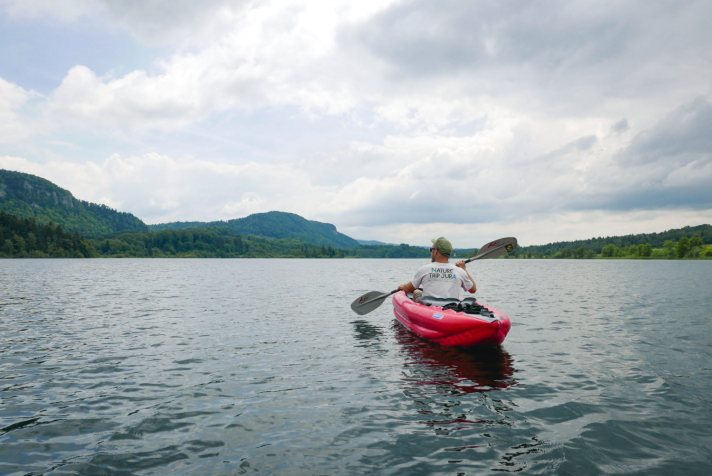 Faire du paddle ou du kayak