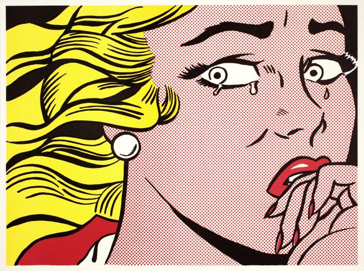 Roy Lichtenstein. Visuels Multiples: pour travailler sa culture générale