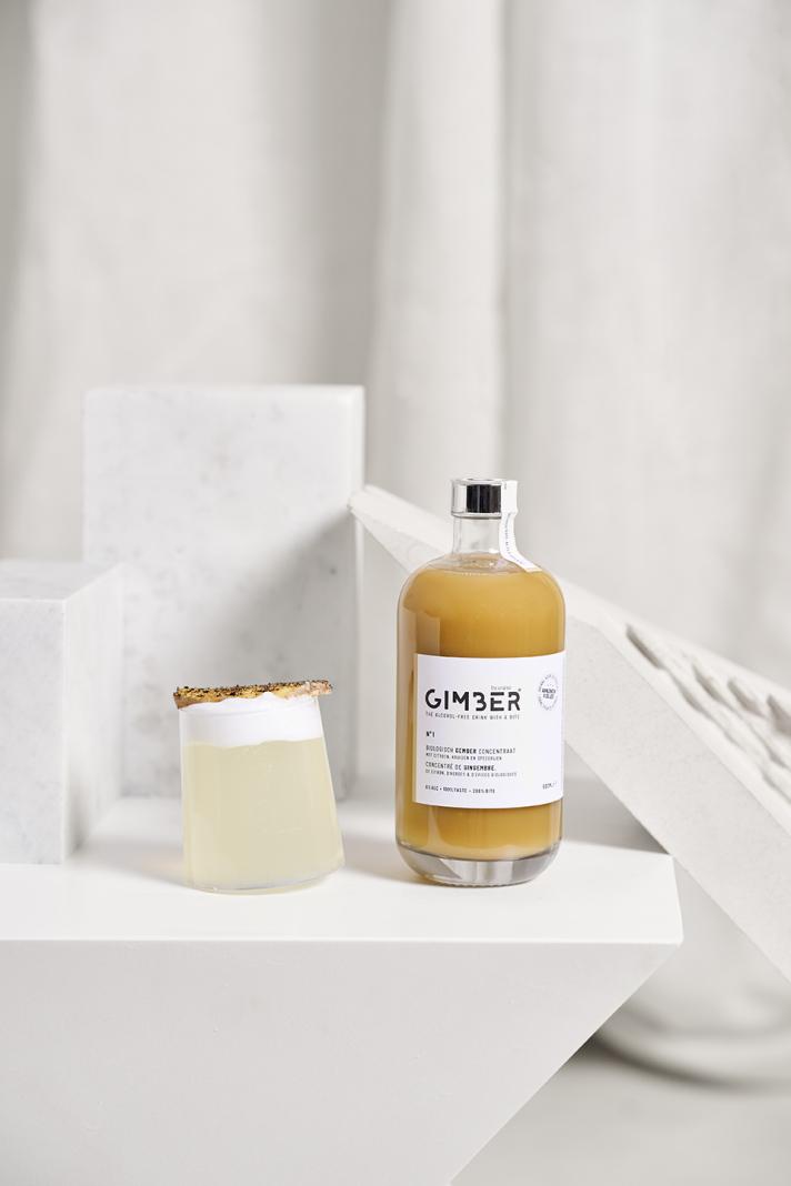 GIMBER: le concentré de gingembre qui twiste vos boissons