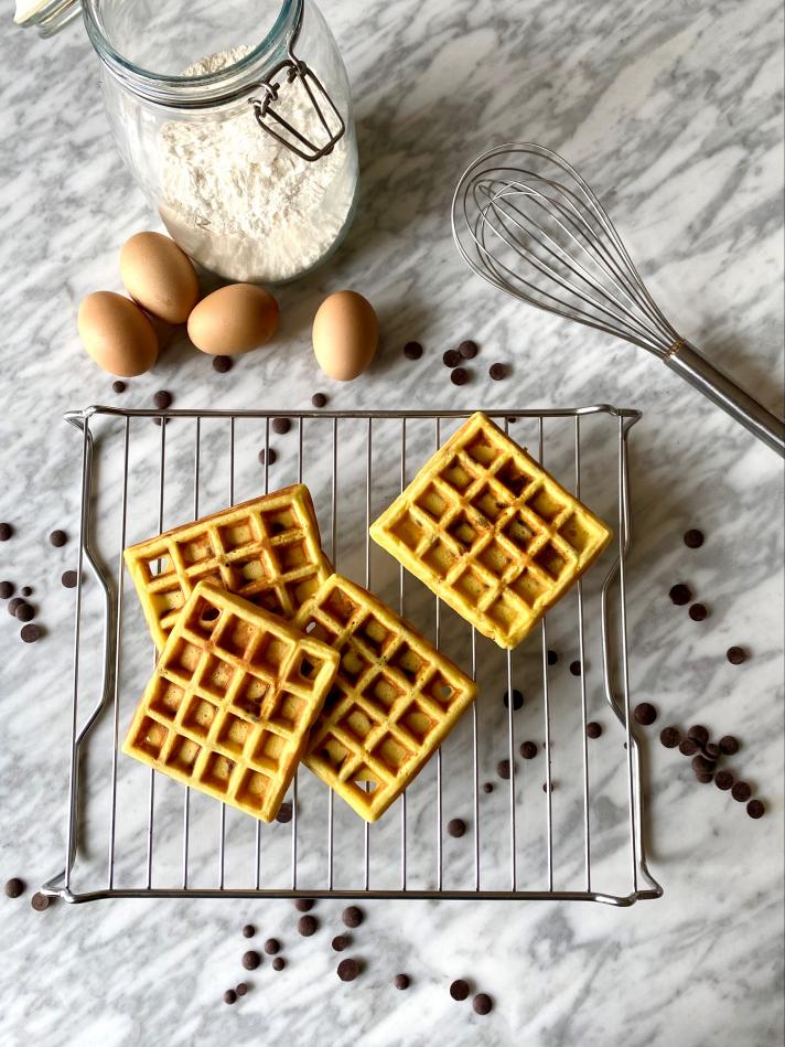 Gaufres aux chocolat (8 pièces)